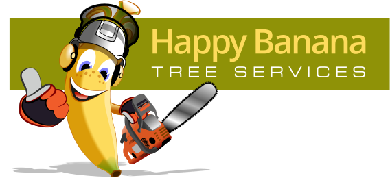 Happy Banana Tree Services Logo